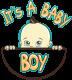 TRICOU GRAVIDE ITS A BABY BOY