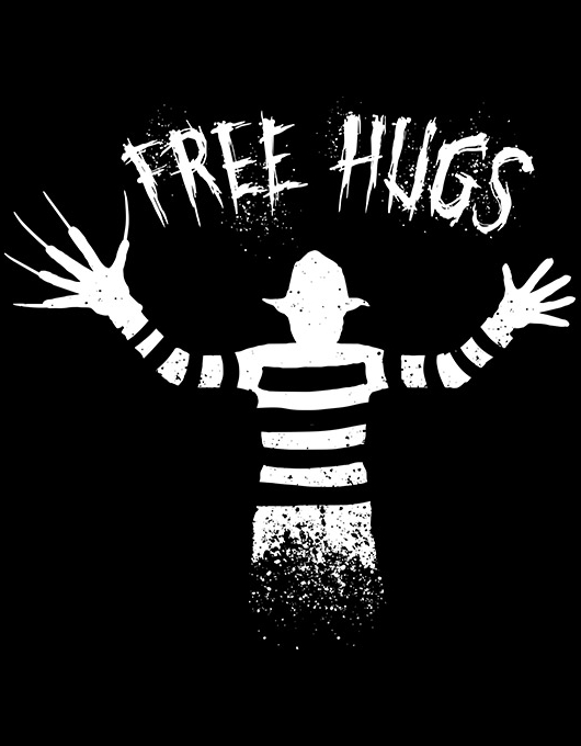 Free hugs from Freddy