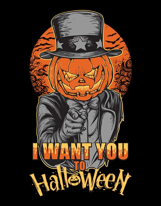 I want you to Halloween