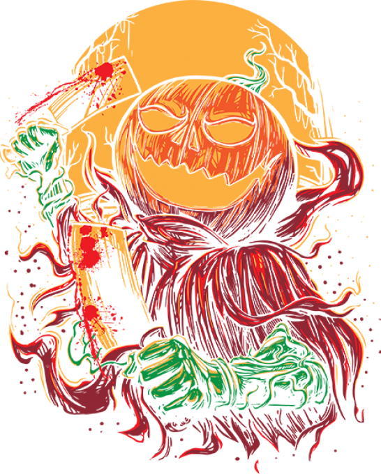 Pumpkinhead butcher