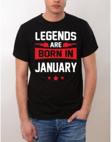 Legends are born in January SALE