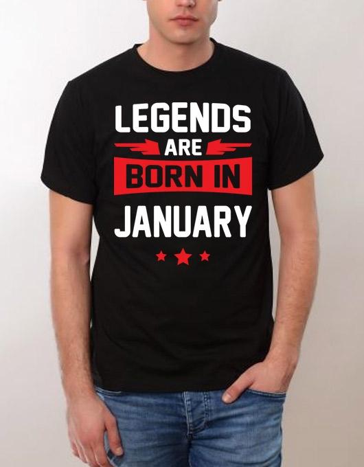 Legends are born in January SALE