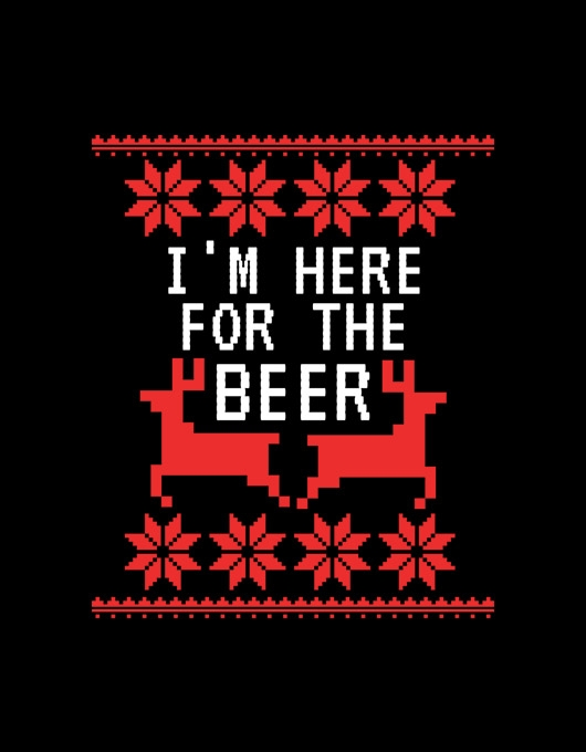 I'm here for the beer