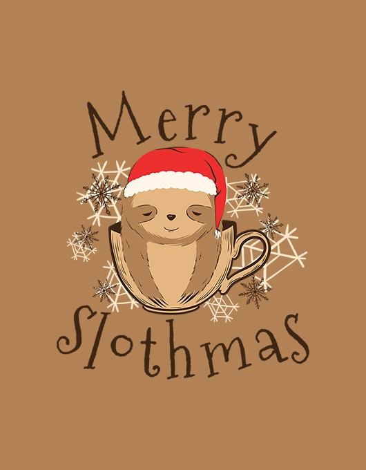 Merry slothmas
