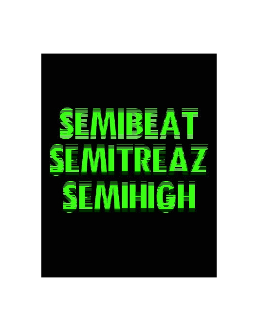 SEMIBEAT SEMITREAZ NEON GREEN