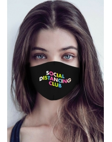 SOCIAL DISTANCING CLUB MASK