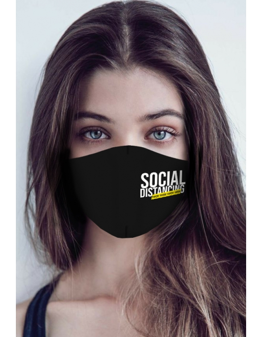 SOCIAL DISTANCING EXPERT MASK
