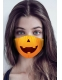 SMILING PUMPKIN MASK