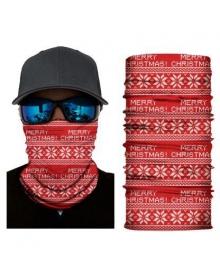 BANDANA CHRISTMAS PATTERN