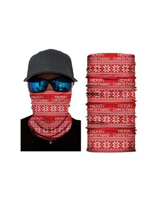 BANDANA CHRISTMAS PATTERN
