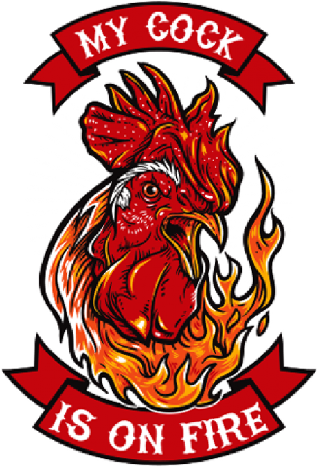My cock is on fire