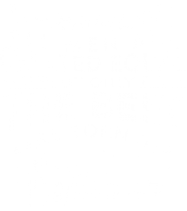 All men are created equal September