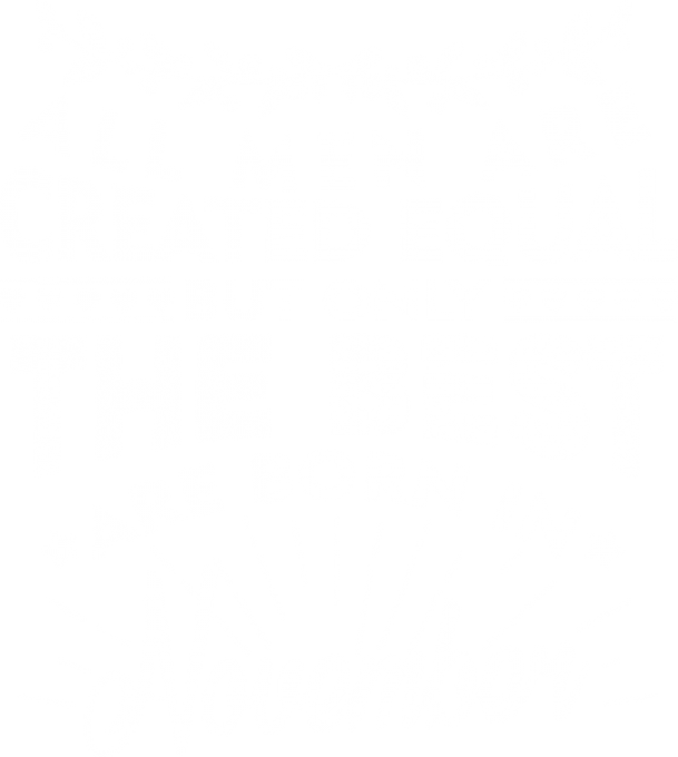 All men are created equal November