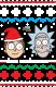 Christmas Rick and Morty